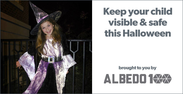 Keep your child visible & safe this Halloween