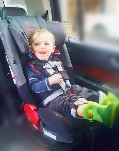 We Have Three Children In Forward Facing Car Seats So Size Is Definitely A Factor And One That The Diono Has Taken Into Consideration
