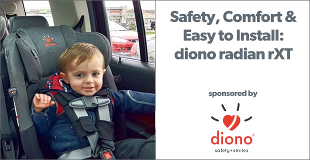 Diono radian rXT—Safety, Comfort and an Easy Install
