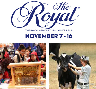 win a family pass to the royal agricultural winter fair. Black Bedroom Furniture Sets. Home Design Ideas