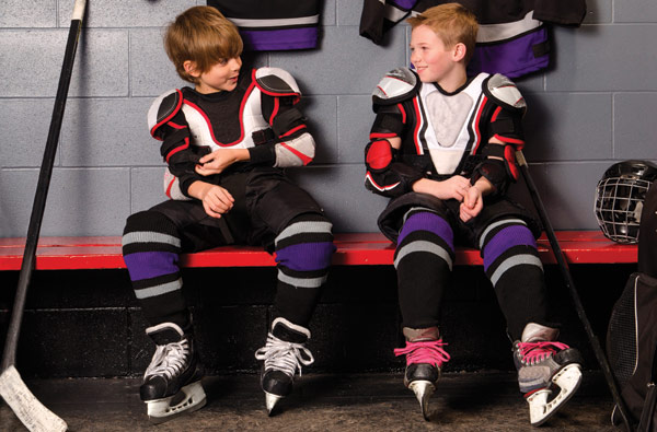 benefits of hockey for kids