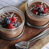 3. Make chocolaty chia seed and oat pudding in little mason jars and store in your fridge overnight for a grab-and-go breakfast.