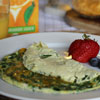 4. Make a spinach and cheese omelette in the microwave.