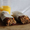 5. Make easy, healthy no-bake breakfast bars the night before, cut them and individually wrap them so they are ready to go the n