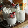 6.  Make DIY yogurt parfaits.
