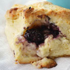 Blackberry biscuits for weekend mornings
