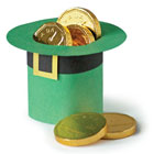 Leprechaun hat table favour