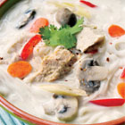 Chicken Tom Ka Gai soup