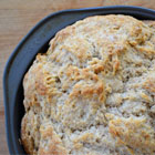 Irish soda bread with cardamom