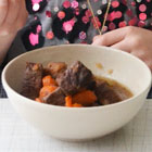 Pressure cooker beef stew