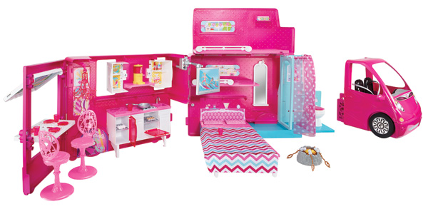 Barbie Life in the Dreamhouse Glam Camper