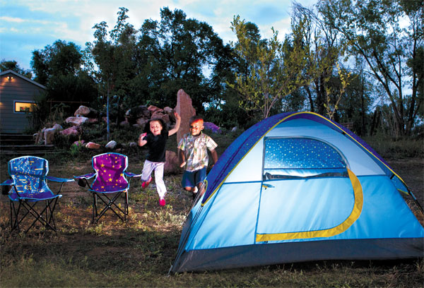 Coleman Glow-in-the-Dark Youth Tent & Our favourite summer camping essentials