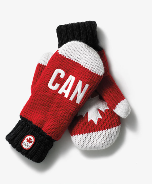 Hudson's Bay Olympic mittens