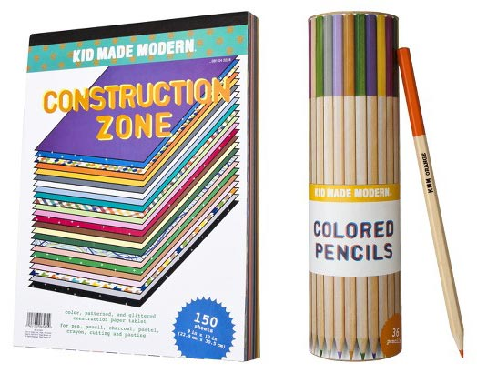 Kid Made Modern Stationery Line, exclusive to Target