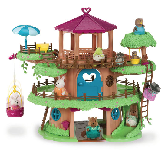 Li'l Woodzeez Family Treehouse