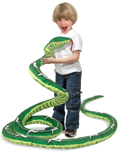 Jumbo 14 foot Plush Snake (Melissa & Doug)