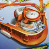Mattel Hot Wheels Spin Shotz Super Boost Spinway Track Set