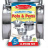 Stainless Steel Pots and Pans by Melissa and Doug