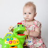 The Chomp & Count Dino toy is perfect for toddlers like Jordan