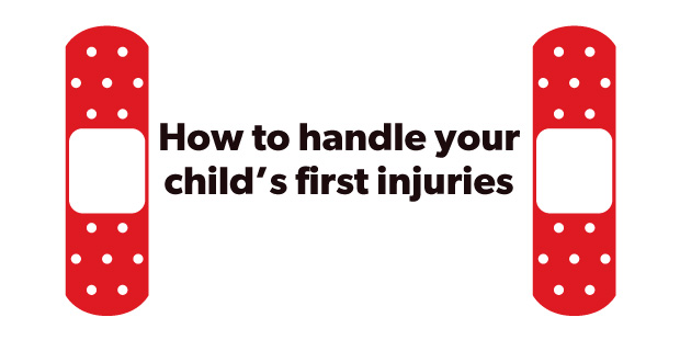 How to handle your child's first injuries