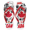 Canadian Paralympic Team Collection Canadiana Flip Flops