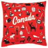 Canada Symbols Pillow Cover
