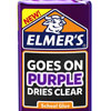 "Elmer's ""Goes on Purple"" Glue"