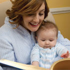 Foster a love of reading from infancy