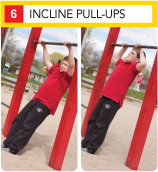Incline Pull-Ups