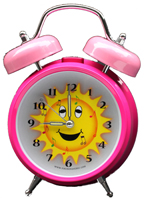 Personalized Singing Alarm Clock