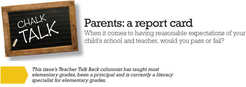 From Report Cards To Parent Teacher >> Teacher Talk Back Parents A Report Card Parentscanada