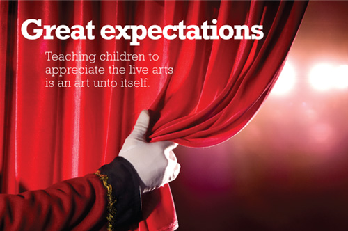 How to Teach Your Child to Appreciate Live Theatre